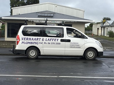 plumbing van, plumbers masterton, carterton and Greytown